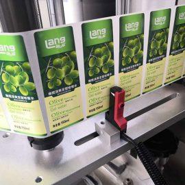 स्वचालित फ्रंट और बैक डबल साइडेड लेबलिंग मशीन विवरण