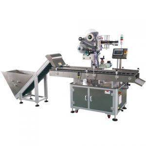 स्क्वायर टिन के डिब्बे लेबलिंग मशीन