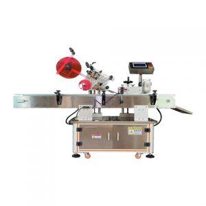 स्वचालित वोदका बोतल पारदर्शी स्टिकर लेबलिंग मशीन