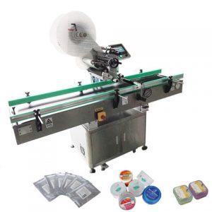 पंक्ति लेबलिंग मशीन में प्लास्टिक Ampoule