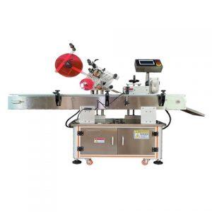 हाई स्पीड राउंड और स्क्वायर बोतल लेबलिंग मशीन