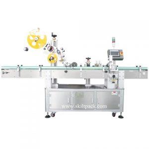 चिपकने वाला स्टीकर लेबल लेबलिंग मशीन फैक्टरी