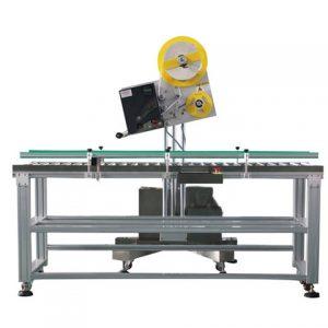 स्वचालित टॉप साइड स्टिकर लेबलिंग मशीन