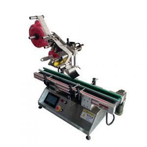 स्टिकर ऑटो कोन शेप पेल लेबलिंग मशीन