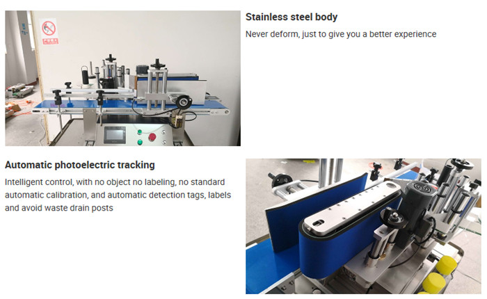 स्वचालित टेबलटॉप बोतल लेबलिंग मशीन विवरण