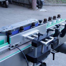 स्वचालित ऊर्ध्वाधर गोल बोतल स्टिकर लेबलिंग मशीन विवरण